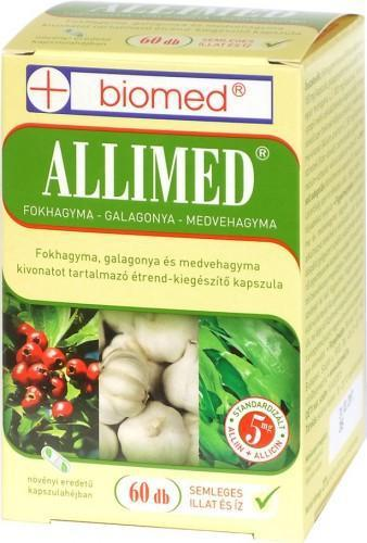 Biomed Allimed kapszula - 60 szem