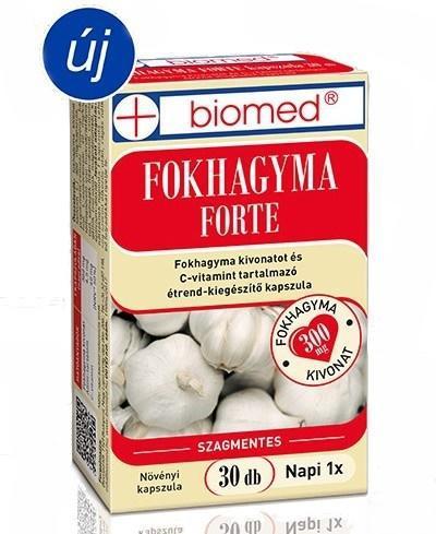 Biomed Fokhagyma FORTE kapszula - 30 szem