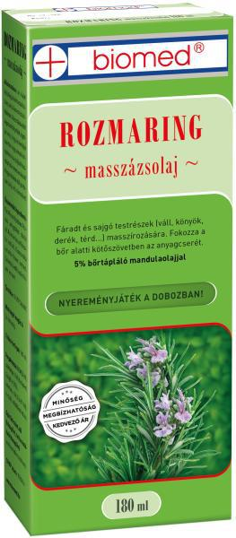 Biomed Rozmaring masszázsolaj - 180 ml