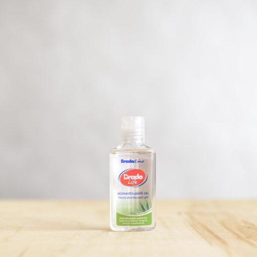 BradoLife Kézfertőtlenítő gél aloe vera – 50 ml