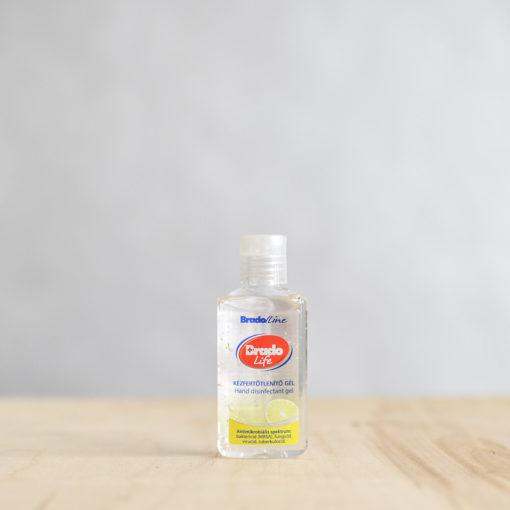 BradoLife Kézfertőtlenítő gél citromos – 50 ml