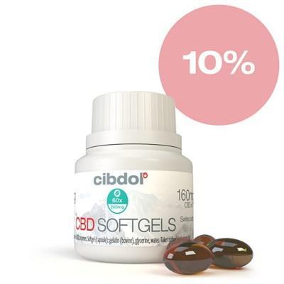 Cibdol CBD 10% lágyzselatin kapszula - 60 szem
