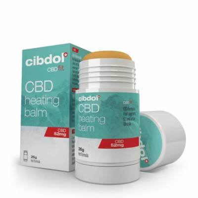 Cibdol CBD Melegítő balzsam 52 mg/26 g
