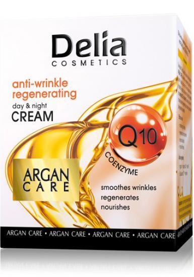 Delia regeneráló krém a koenzim Q10- zel és argán olajjal - 50 ml