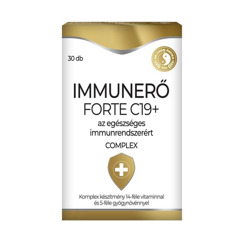 Dr Chen Immunerő Forte C19+ tabletta 30 db