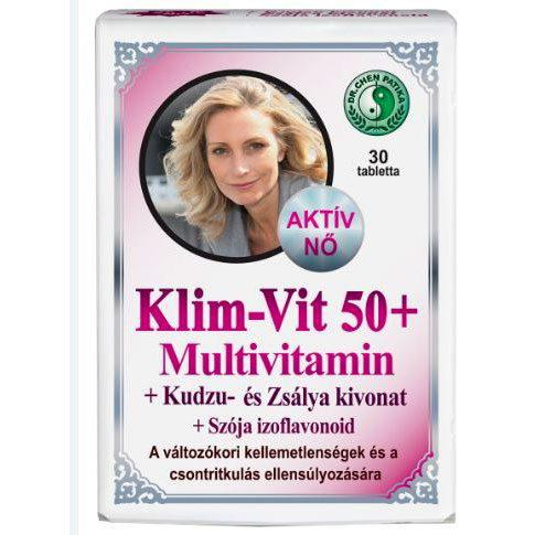 Dr. Chen Klim-Vit 50+ Multivitamin - 30 szem