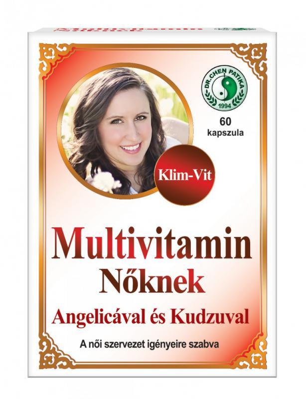 Dr. Chen KLIM-VIT Multivitamin nőknek - 60 szem