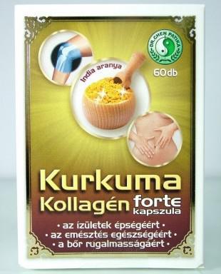 Dr. Chen Kurkuma Kollagén Forte kapszula - 60 szem