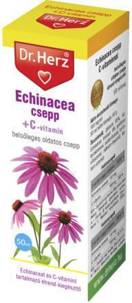 Dr Herz Echinacea csepp C-vitaminnal 50 ml