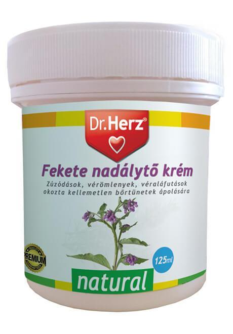 Dr Herz Natural Feketenadálytő krém 125ml