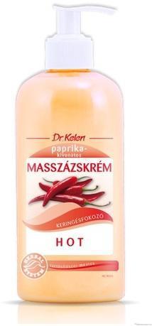Dr Kelen Hot masszázskrém 500 ml