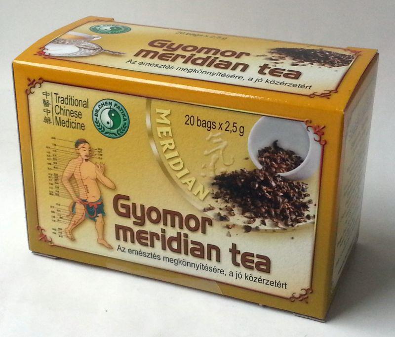 Dr.Chen Gyomor Meridián tea - 20x2.5g