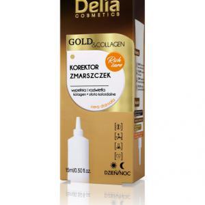 DELIA GOLD & COLLAGEN Koncentrált ápolás a ráncok ellen 15ml