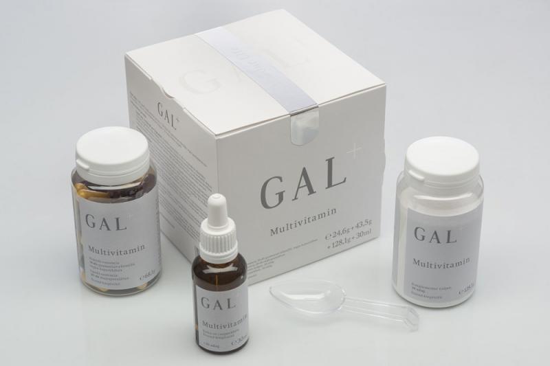 GAL Multivitamin+ készítmény 30 db+30 db+30 adag+30 ml