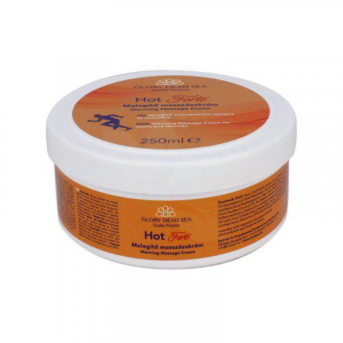 Glory Holt-tengeri Hot Forte melegítő masszázskrém (Harrar krém) 250 ml
