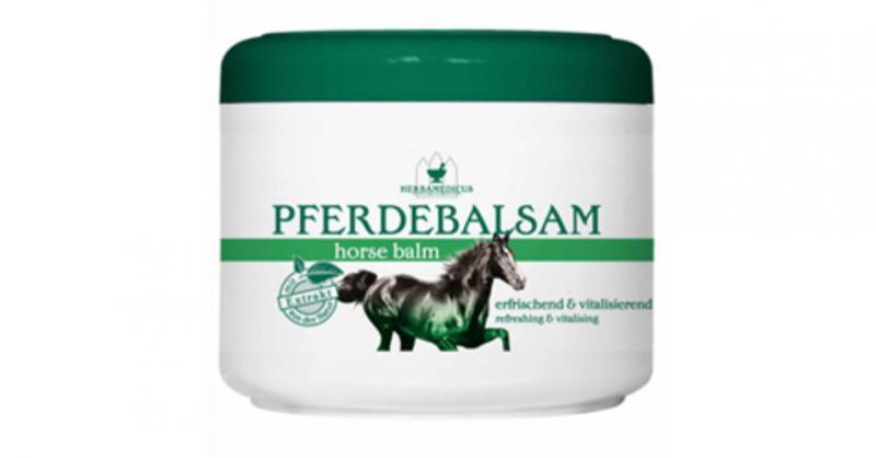 """Herbamedicus Pferde lóbalzsam """"hűsítő""""  500 ml"""