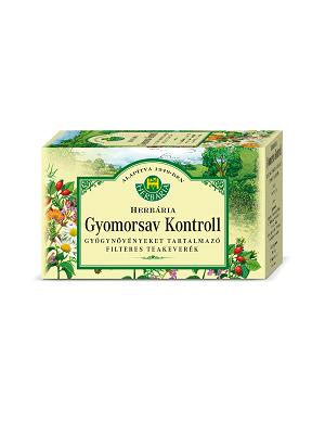 Herbária Gyomorsav kontroll filteres tea 20x1.2g