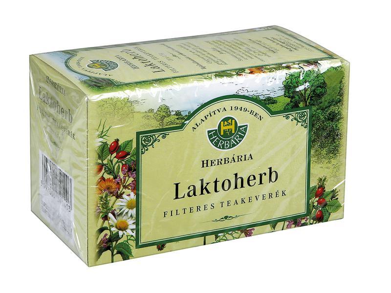 Herbária Laktoherb tejszaporító filteres tea 20x1.5g