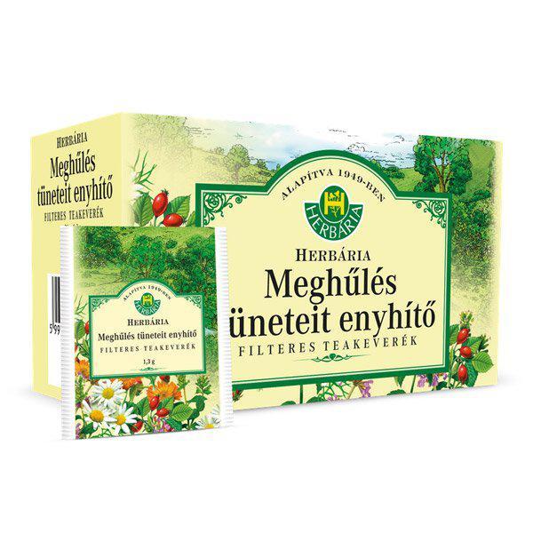 Herbária Meghűlés tüneteit enyhítő filteres teakeverék 20x1g