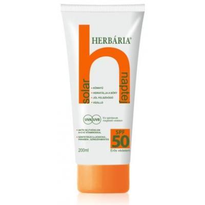 Herbária solar NAPTEJ SPF 50 200 ml