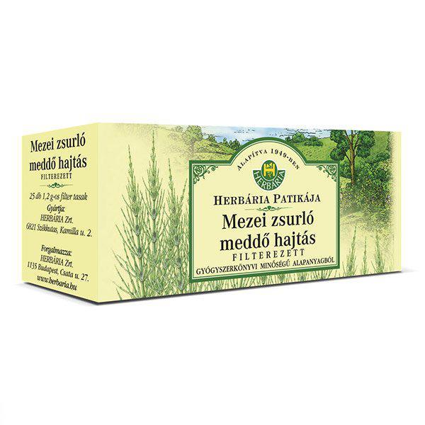 Herbária Zsurló mezei filteres tea 25x1.2g