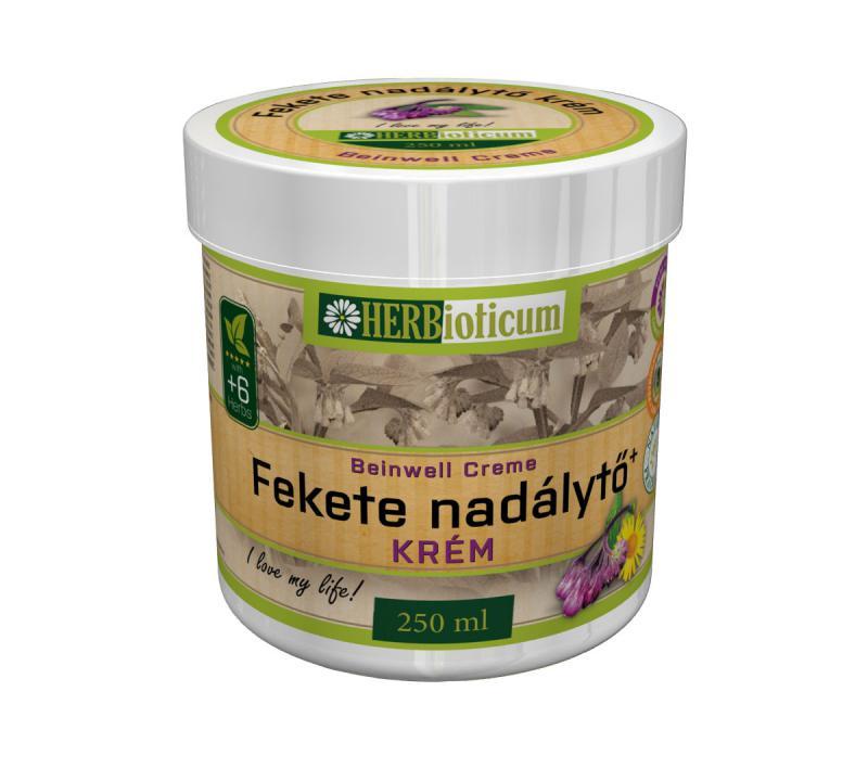 HERBioticum Fekete nadálytő krém - 250 ml