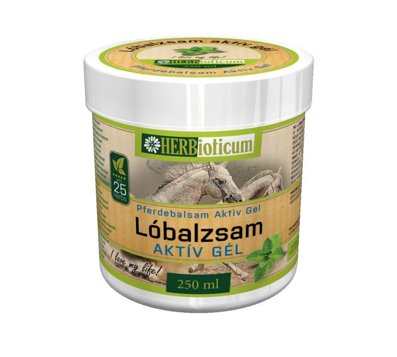 HERBioticum Lóbalzsam aktív gél - 250 ml