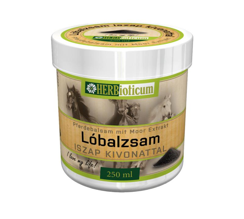 HERBioticum Lóbalzsam iszap kivonattal - 250 ml