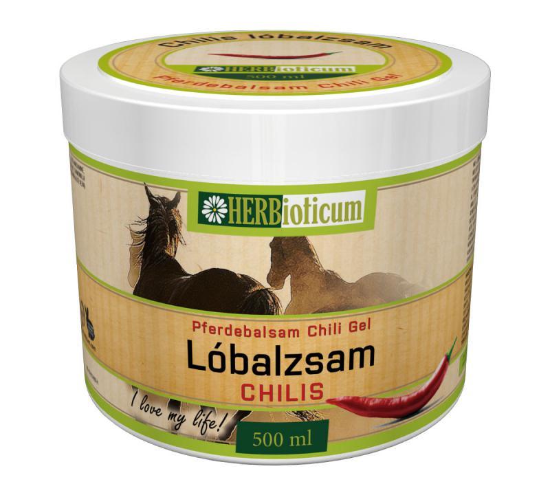 HERBioticum Pferdebalsam chili gél  500 ml