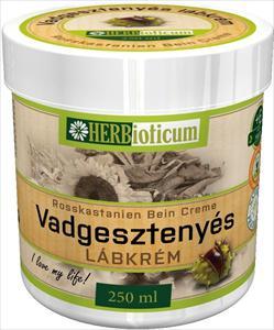 HERBioticum Vadgesztenyés lábkrém - 250 ml