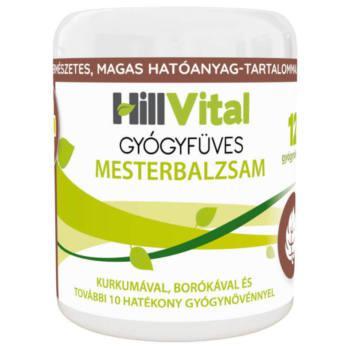 HillVital Mesterbalzsam Gyógyfüves 250ml