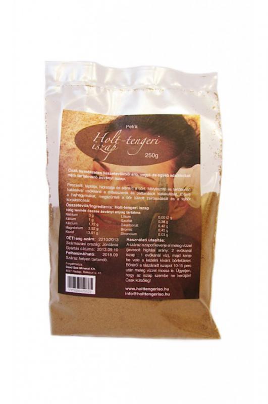 Holt-Tengeri száraz iszap PETRA - 250 g