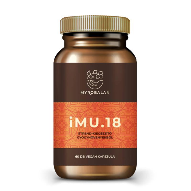 iMU.18 - immunerősítő gyógynövény kapszula - 60 szem