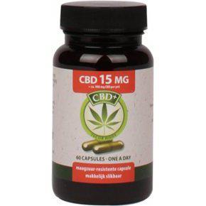 Jacob Hooy CBD olaj 15 mg CBD - 60 db kap. - 900 mg CBD