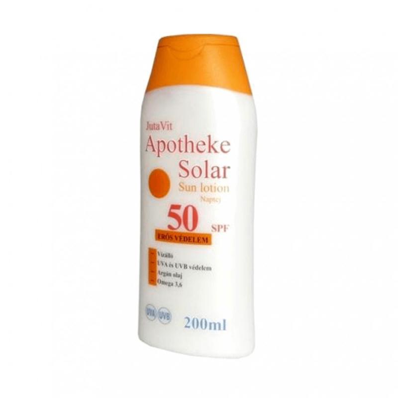 JutaVit apotheke solar sun NAPTEJ SPF 50 200 ml