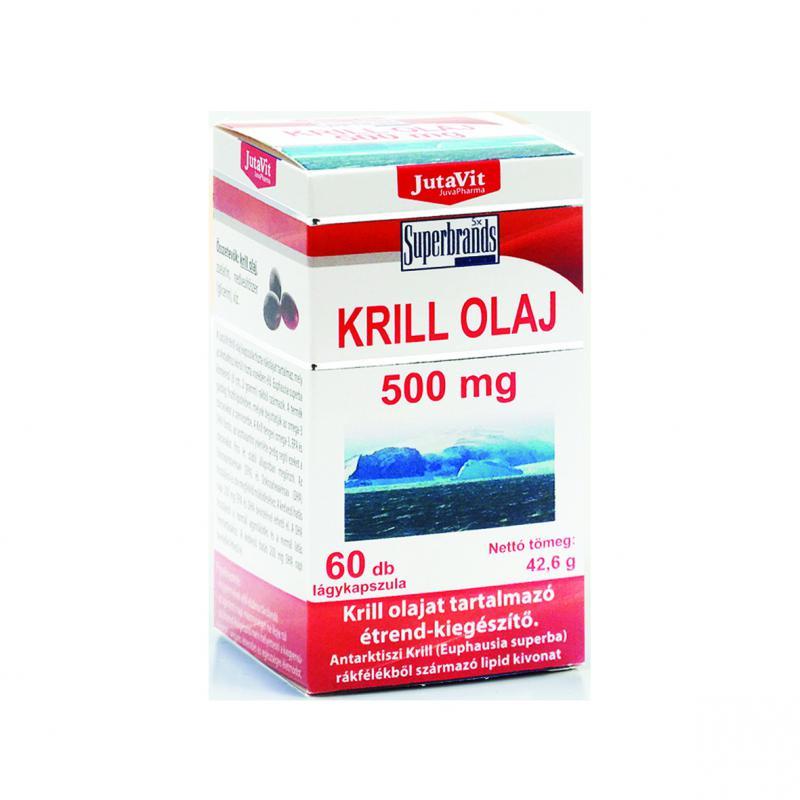 Jutavit krill olaj 500mg kapszula 60 szem