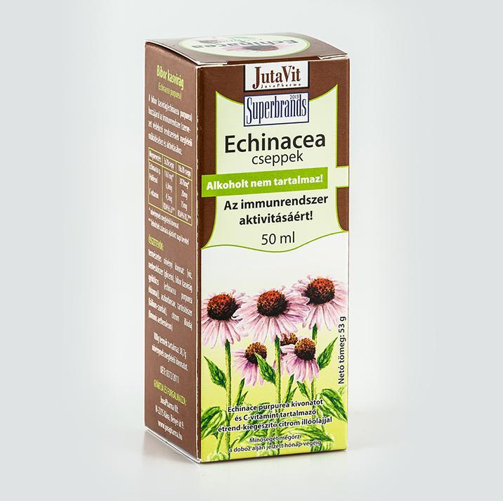 Jutavit Tabletta echinacea 50 szem