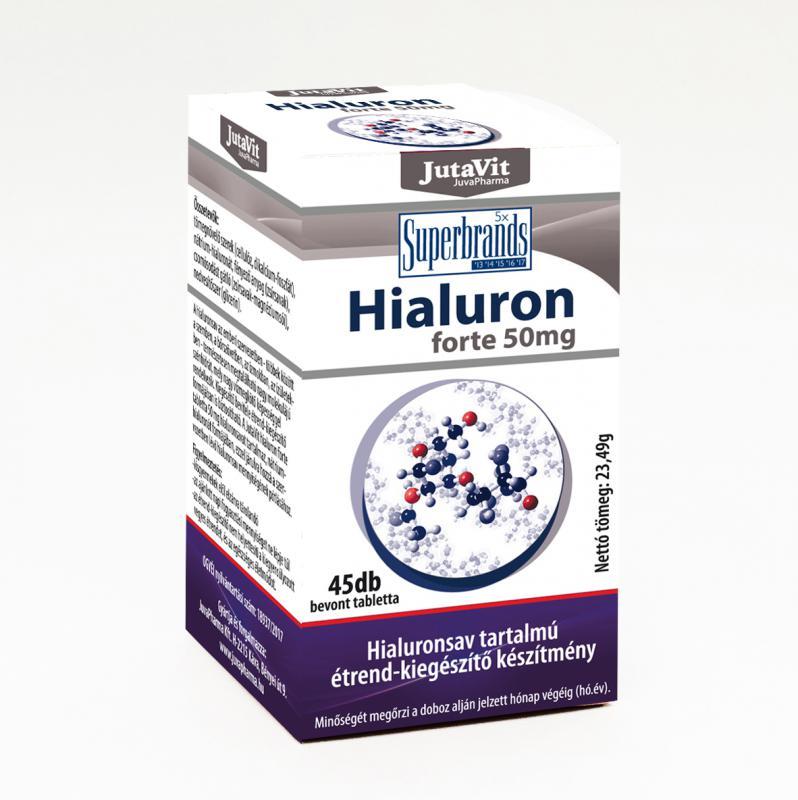 Jutavit Tabletta hialuron forte 50 mg 45 szem