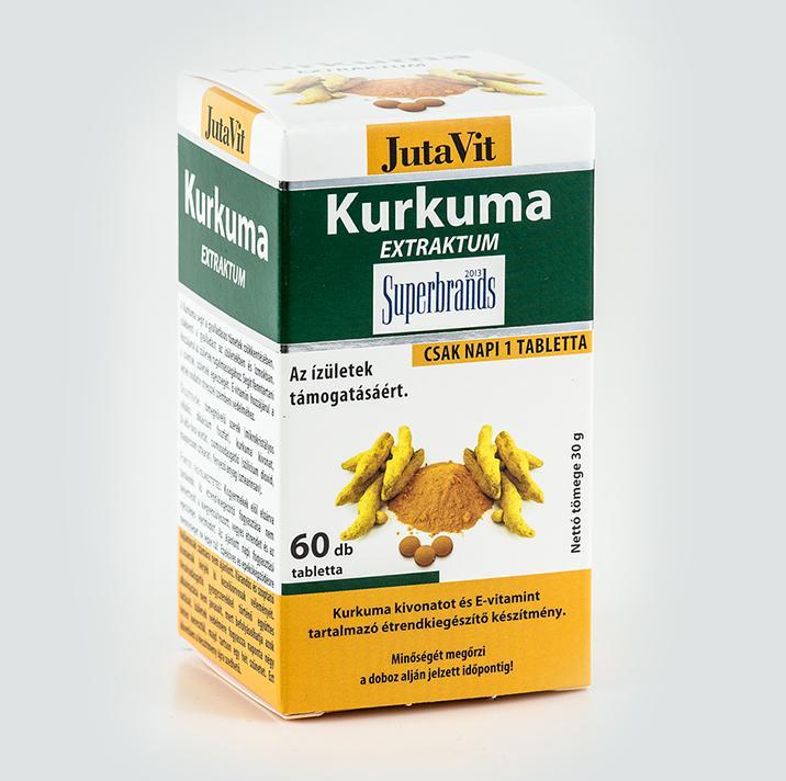 Jutavit Tabletta Kurkuma Extraktum 60 szem