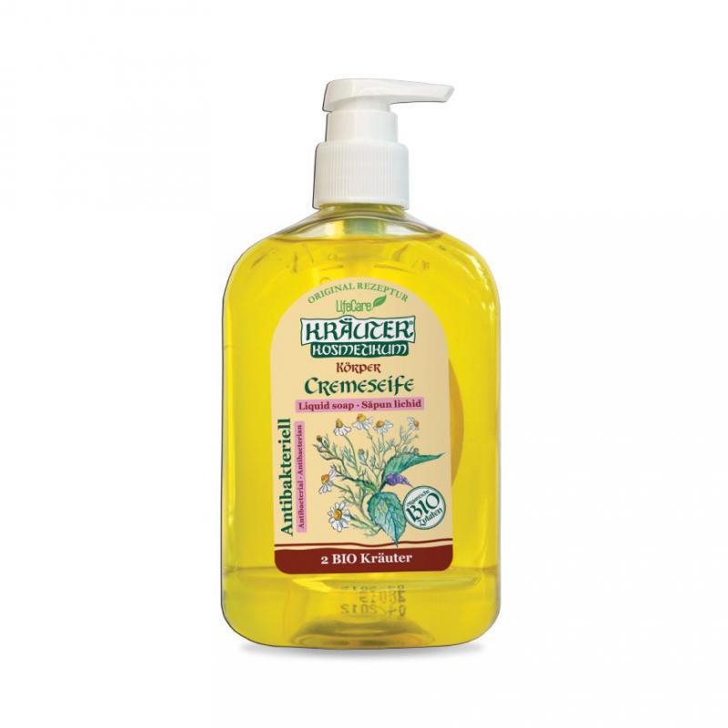 Kräuter® antibakteriális folyékony szappan, BIO gyógynövényekkel - 500 ml