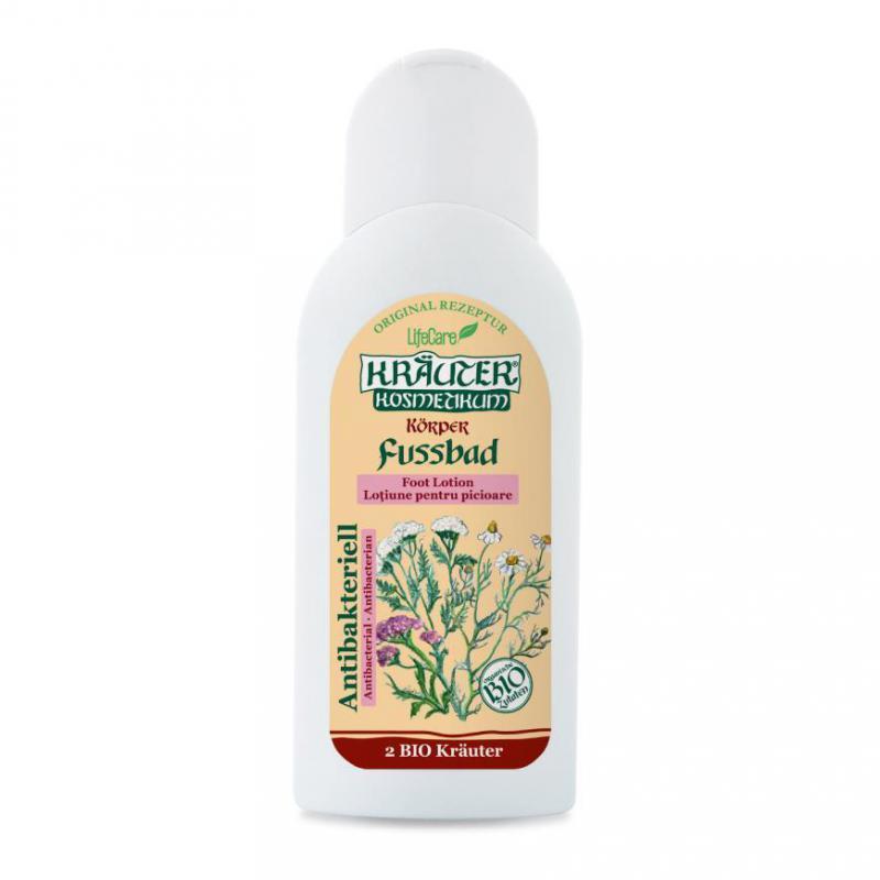 Kräuter® antibakteriális lábápoló gél, BIO gyógynövényekke - 250 ml