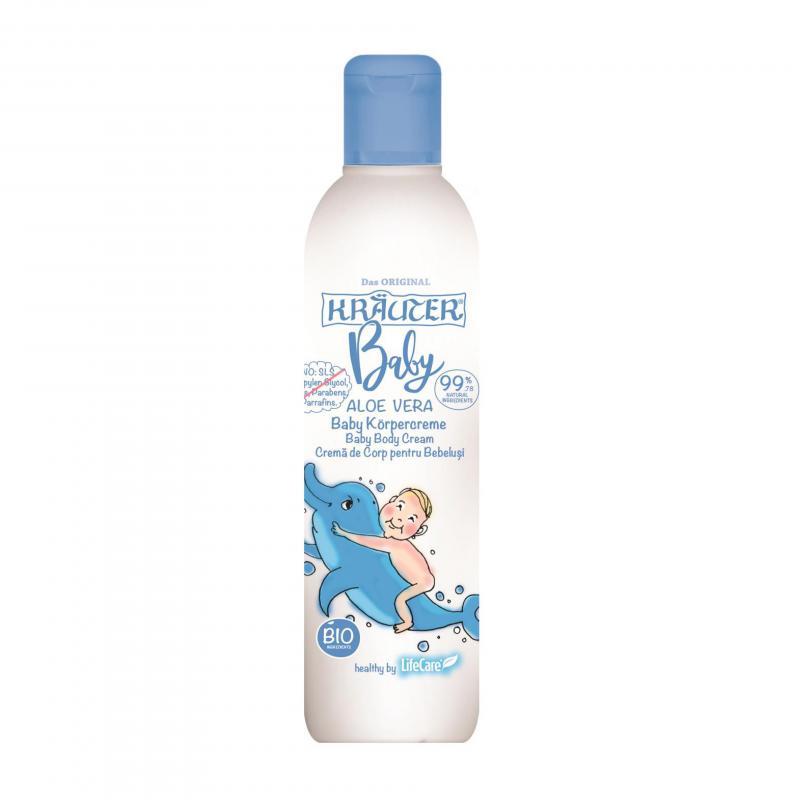 Kräuter® BIO növényi testápoló aloe verával, csecsemőknek - 200 ml