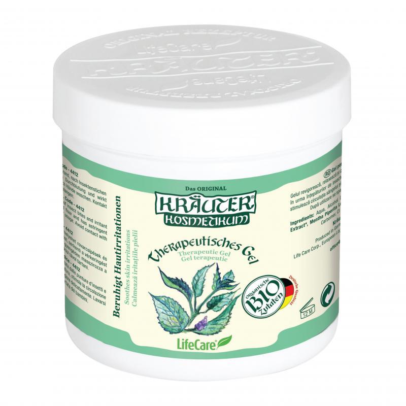 Kräuter® bőrirritációt enyhítő gél, BIO mentával - 250 ml