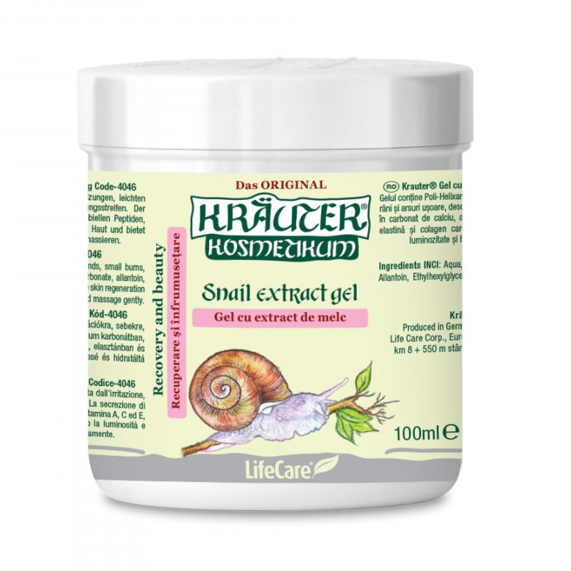Kräuter® csigakivonatot tartalmazó gél - 100 ml