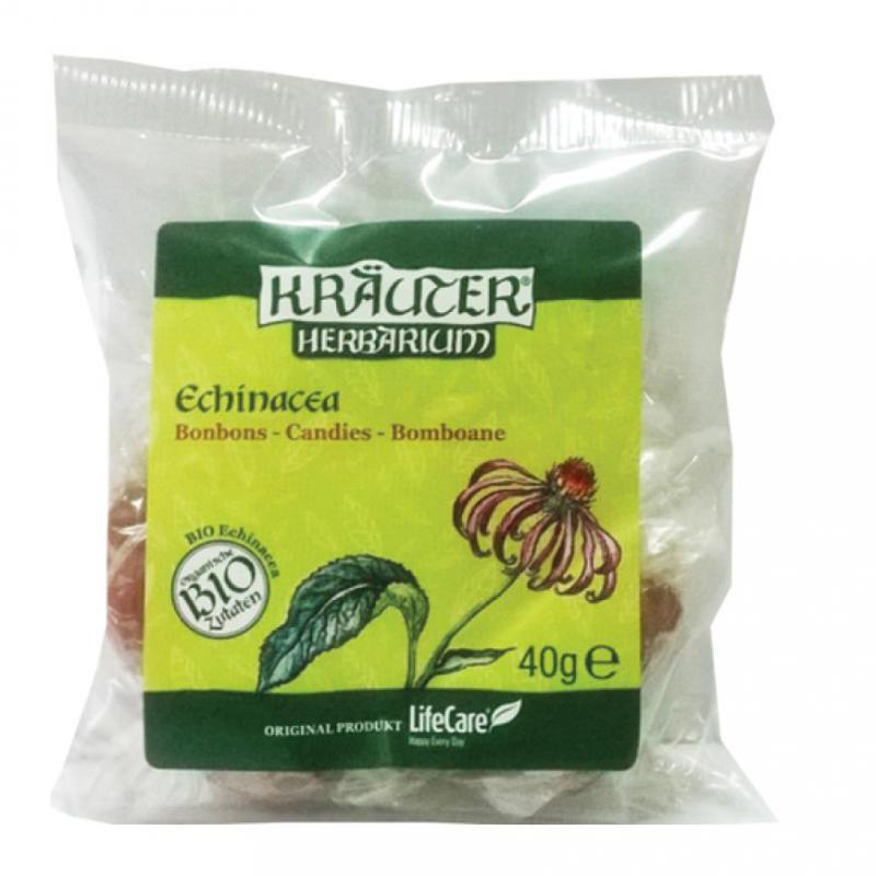 Kräuter® cukorka, BIO echinaceával