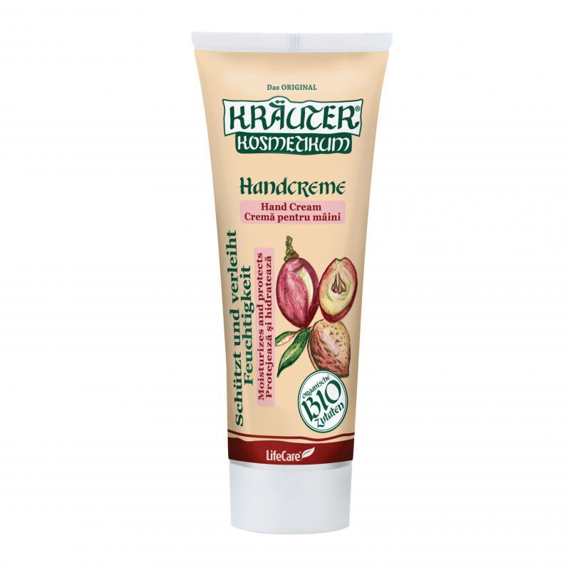 Kräuter® hidratáló kézkrém, BIO szőlőmagolajjal és mandulával - 100 ml