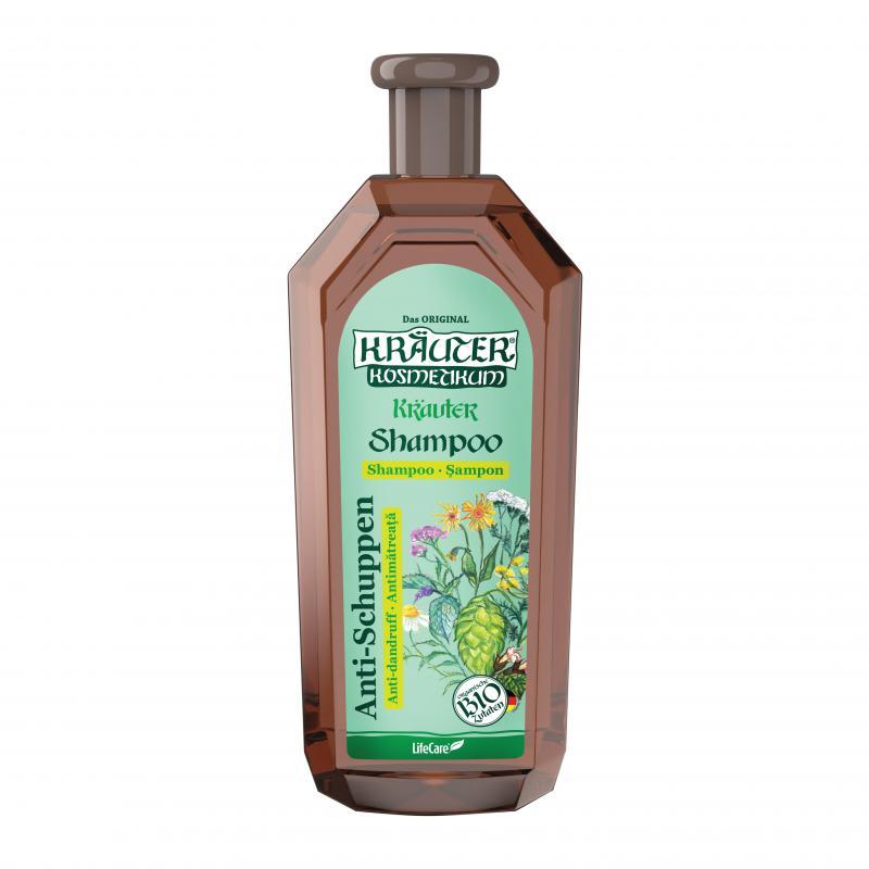 Kräuter® korpásodás elleni sampon, BIO gyógynövény kivonattal - 500 ml