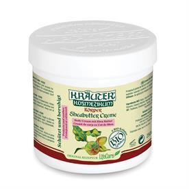 Kräuter® nyugtató testápoló, shea vajjal és BIO gyógynövényekkel - 250 ml