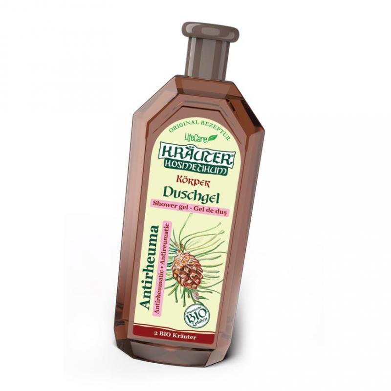 Kräuter® reuma elleni tusfürdő, fenyő kivonattal és BIO gyógynövények - 500 ml