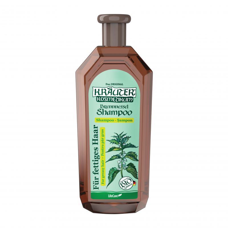 Kräuter® sampon zsíros hajra, BIO csalánnal - 500 ml